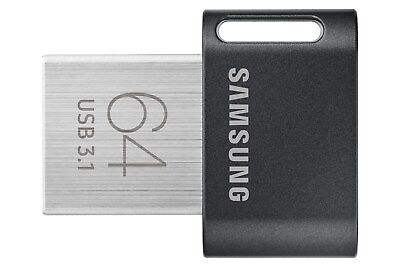 Samsung FIT Plus 64GB USB 3.0 Flash Stick Pen Memory Drive - Black