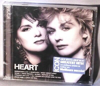 CD HEART Icon (Greatest Hits Best of) NEW MINT SEALED