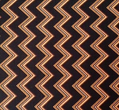 Maya Studio 8 BTY Quilting Treasures Geometric Black Brown Taupe Ivory