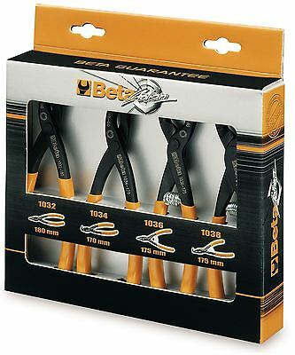 Beta Tools 1031/S4 SET OF 4 Circlip Pliers Straight/Angle/Wide/Narrow