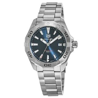 New Tag Heuer Aquaracer 300M Blue Dial Stainless Men's Watch WBD1112.BA0928