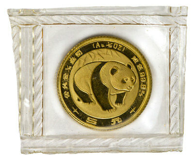 1983 China 1/10 oz. Gold Panda ¥10 BU Coin (Mint Sealed) SKU45951