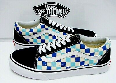 a633aab271e VANS OLD SKOOL Black Red Checkerboard Men s Size 12 NWB -  79.99 ...