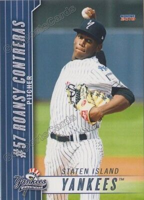 2018 Staten Island Yankees Roansy Contreras RC Rookie New York