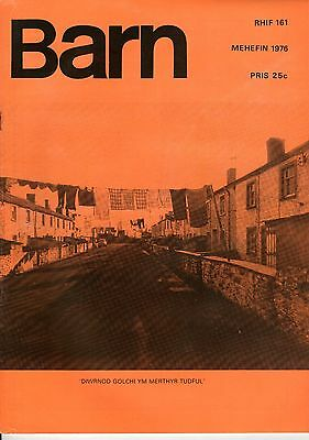 "MERTHYR TYDFIL - FRENCH CINEMA - SIAN LLOYD - WELSH MONTHLY ""BARN"" No 161 (1976)"