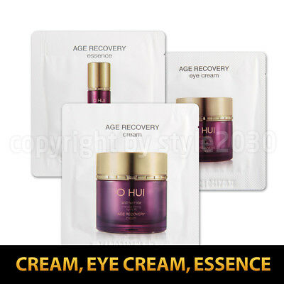 [O HUI] Age Recovery Cream / Eye Cream / Essence 10pcs~90pcs OHUI