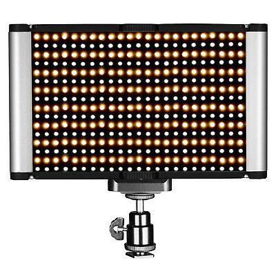 Neewer Dimmable Bi-color 280 LED Vedio Light with Standard Cold Shoe for DSLRs