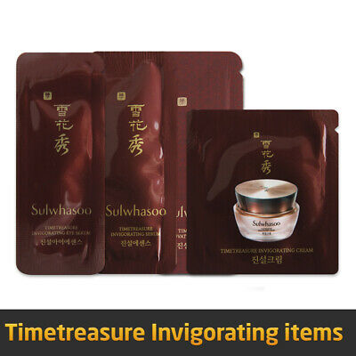 [Sulwhasoo] Timetreasure Renovating Cream / Eye Cream / Essence / Eye Serum EX