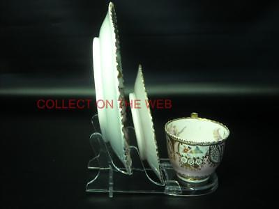 ONE of - CUP SAUCER & PLATE Trio Display Stand