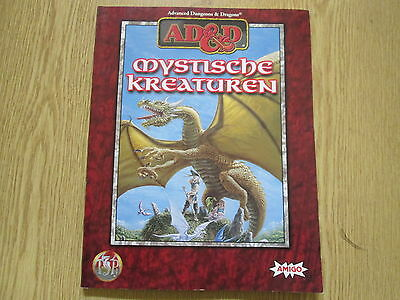 Advanced Dungeons & Dragons. Mystische Kreaturen, ad&d-Monsterset, Amigo 1998.