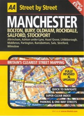AA Street by Street Manchester: Midi,