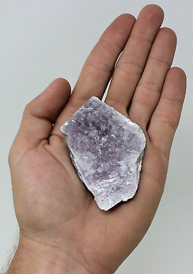 "Single Lepidolite Leaf / Slab (2"" - 3"") Layered Mica Crystal Mirror Leaves"