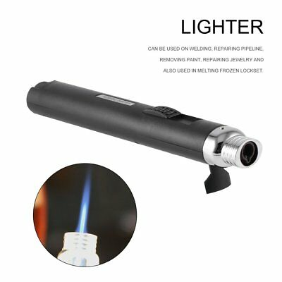 Protable Jet Pencil Torch Butane Gas Lighter for Camping Cigarette Cigar RY