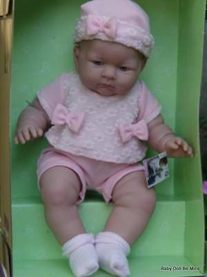 New ~ JC Toys ~ Berenguer 18803 ~ Lily ~ 18 Inch ~ Real Girl ~ Vinyl Doll