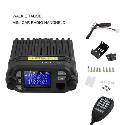 KT-8900D Dual Band Quad Standby 25W Car Intercom Car/Truck Ham Mobile Radio RY