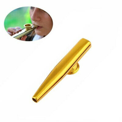 Metal Kazoo Harmonica Mouth Flute Kids Party Gift Kid Musical Instrument RY
