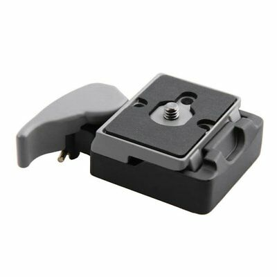 Camera 323 Quick Release Clamp Adapter for Manfrotto 200PL-14 Compat Plate RY