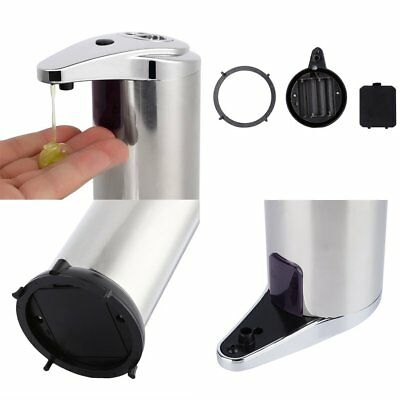 Stainless Steel Handsfree Automatic IR Sensor Touchless Soap Liquid Dispenser RY