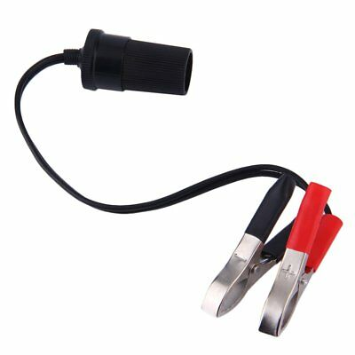 Car Battery Terminal Clip-on Cigarette Lighter Power Socket Adapter 12V RY