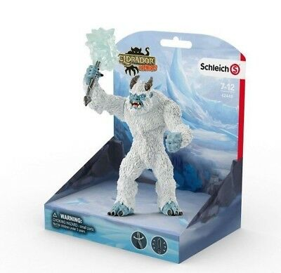 Ice Monster with weapon by Schleich 42448 Stunning  Eldrador strong tough <><
