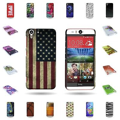 the latest 488c1 a6d96 FOR HTC DESIRE Eye Hard Rubber Plastic Design Cover Slim Fit Snap On ...