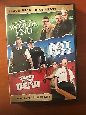 Shaun of the Dead/Hot Fuzz/The Worlds End 3-Disc Set