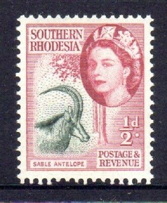 1953 SOUTHERN RHODESIA DEFINITIVES ½d sable antelope SG78 mint unhinged