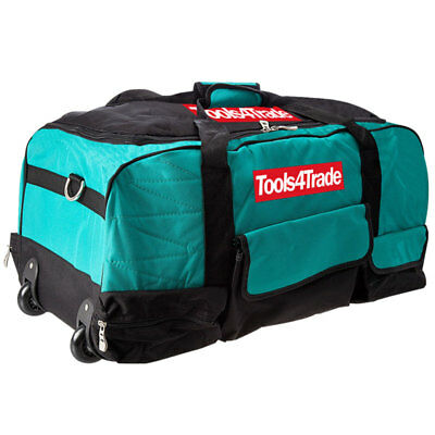 "Tools4trade T4T600 26"" Heavy Duty Padded Tool Bag Carry Bag With Wheels"