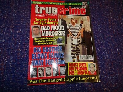 True Crime Detective Monthly Magazine May 2010