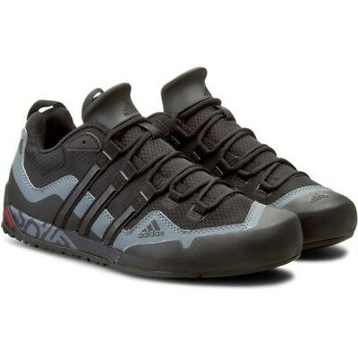 sports shoes ec5cd 6b6a4 New Original Adidas Terrex Swift Solo D67031 Mens Trekking Hiking Shoes  Black