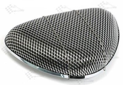 Super Flow Chrome Air Cleaner Air Filter - Fits Most 4bbl Carbs Edelbrock Holley