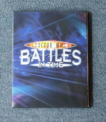 Dr Who Battles in Time Full 225 Card Ultimate Monsters Set in Official Binder