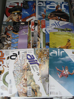 AIR : COMPLETE 24 ISSUE SERIES by WILSON & PERKER. BEAUTIFUL. DC. VERTIGO.2008