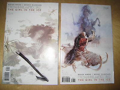 "NORTHLANDERS 35,36, ""GIRL in the ICE"" : COMPLETE 2 ISSUE STORY. DC VERTIGO.2011"