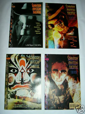 """Sandman Mystery Theatre # 5,6,7,8 :""""the Face"""" :complete 4 Issue Story Arc. 1993"""