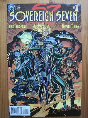 SOVEREIGN SEVEN #s 1 - 23 + ANNs 1,2 COMPLETE. 1995 DC SERIES.CLASSIC- CLAREMONT