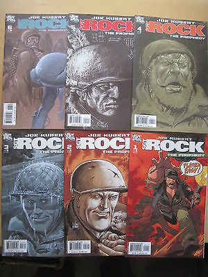 SGT ROCK, The PROPHECY : COMPLETE 6 ISSUE SERIES by JOE KUBERT. DC.2006