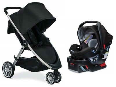 Britax B-Lively Stroller & B-Safe 35 Elite Travel System Prescott NEW!