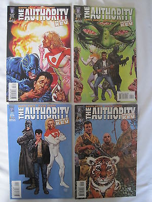 The AUTHORITY : MORE KEV :COMPLETE 4 ISSUE SERIES by ENNIS, FABRY.WILDSTORM.2004