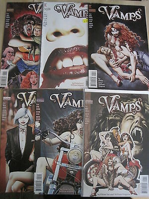 VAMPS : COMPLETE 6 ISSUE SERIES by ELAINE LEE & WILL SIMPSON. DC VERTIGO.1994