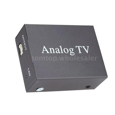 Remote DVB Car DVD TV Box Strong Signal Receiver Analog TV Tuner + Antenna Z0M9