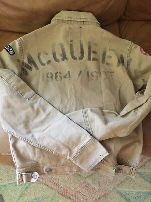 Steve McQueen Johnson Motors Mechanic Jacket Size Medium Only One On EBay Rare