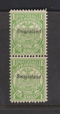 SWAZILAND 5 1sh, 1889 nh/hinged Will separate, see note