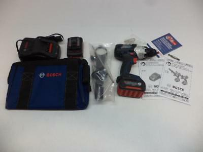 1 New Bosch Cordless Brute Tough Drill/driver Kit With Batteries Ddh183-01