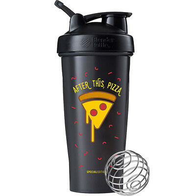 Blender Bottle Special Edition 28 oz. Shaker with Loop Top - After This, Pizza