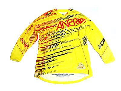 New Answer Racing Rush JS Jersey - Large - Yellow / Black / Red