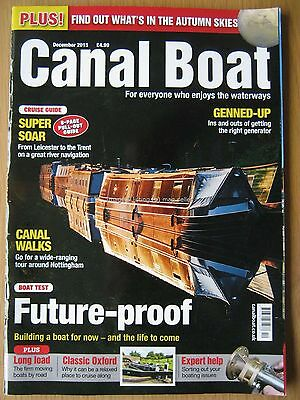 Canal Boat December 2015 Leicester to Trent Nottingham Oxford Generators