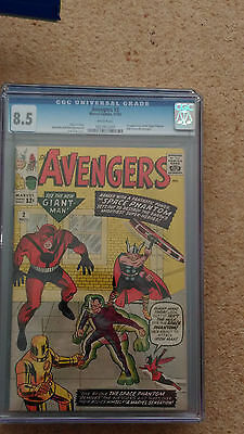 Avengers #2 - Cgc 8.5 - Cents Copy -  In The Top 150 Copies In The World