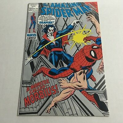 AMAZING SPIDER-MAN #101 2nd Second Print FIRST MORBIUS APPEARANCE 1992 Silver