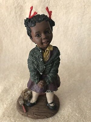 """M. Martha Holcombe """" Tish """" Stamped #19 All God's Children Made In USA"""
